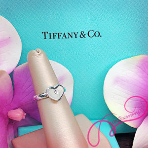 NWOT T&Co Paloma Picasso Modern Heart Diamond Ring